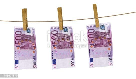 istock euro clothespin banknote money finance 1146627875