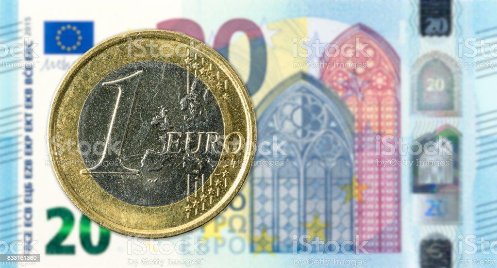 billet de banque 1 euro