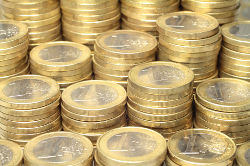 Euro Coins Stock Photo - Download Image Now