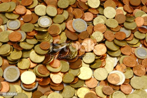 Euro Coins Stock Photo & More Pictures of Coin