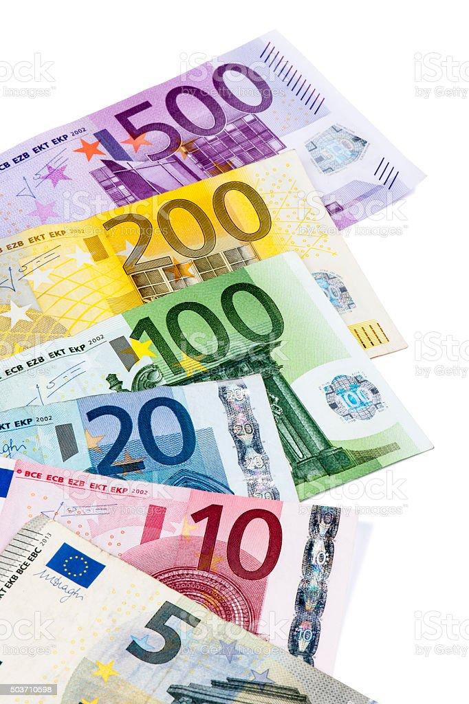 Moneda Euro - foto de stock
