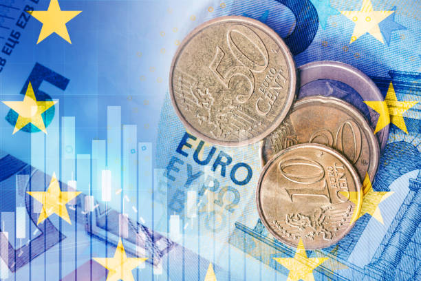 euro currency euro currency european union coin stock pictures, royalty-free photos & images