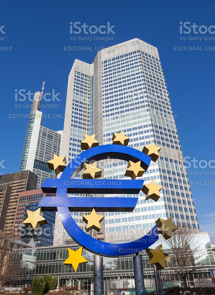 Euro Currency Sign. stock photo