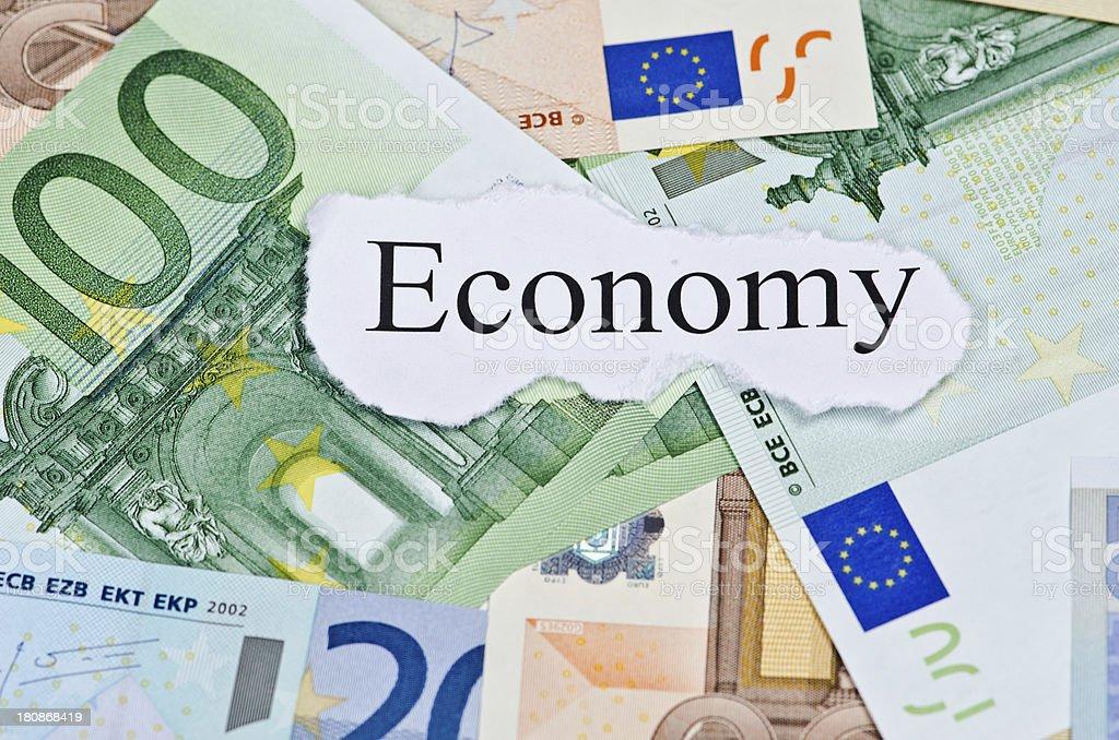 Euro Economy royalty-free stock photo