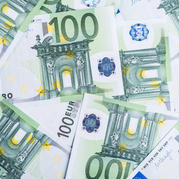 Euro Money. euro cash background. Euro Money Banknotes. stock photo