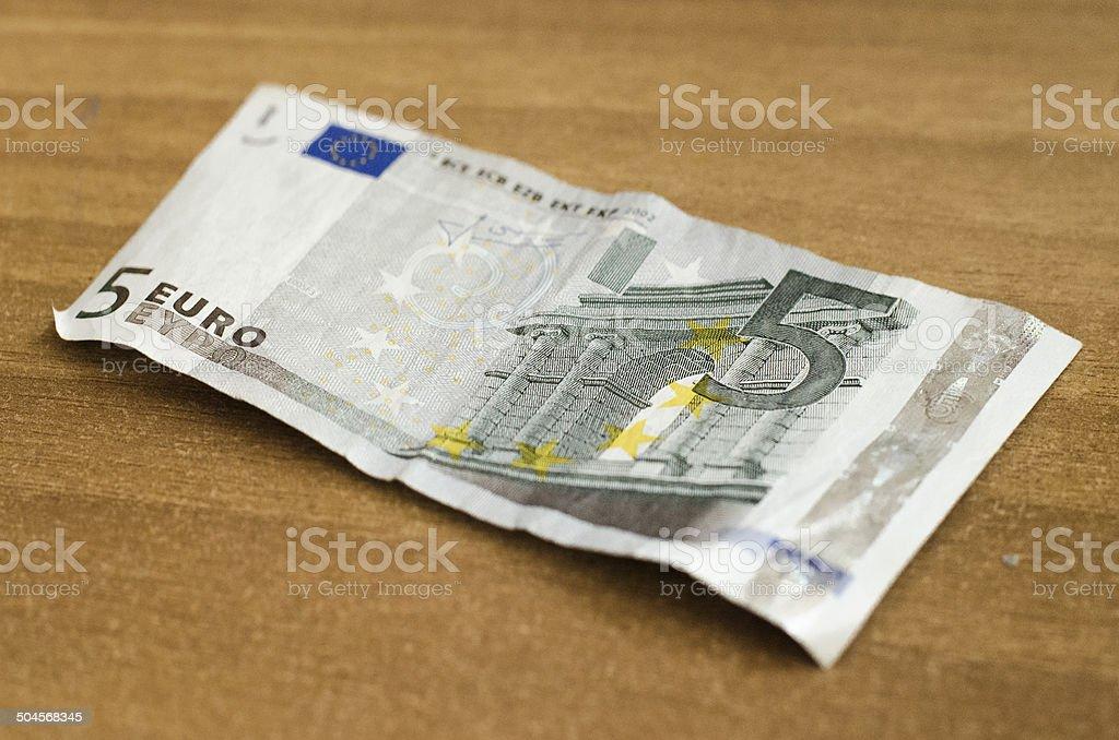 5 euro-Schein – Foto