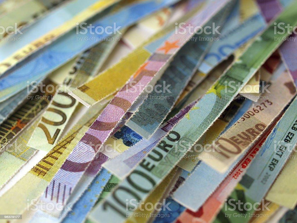 Euro note royalty-free stock photo