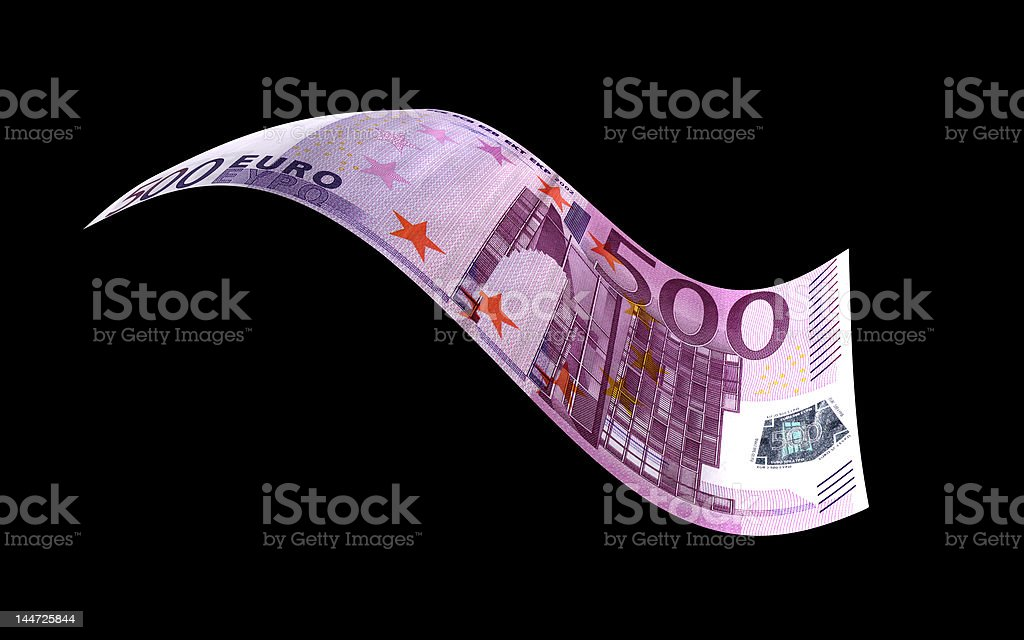 Euro Note stock photo