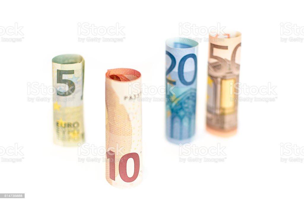 Euro-Banknoten – Foto