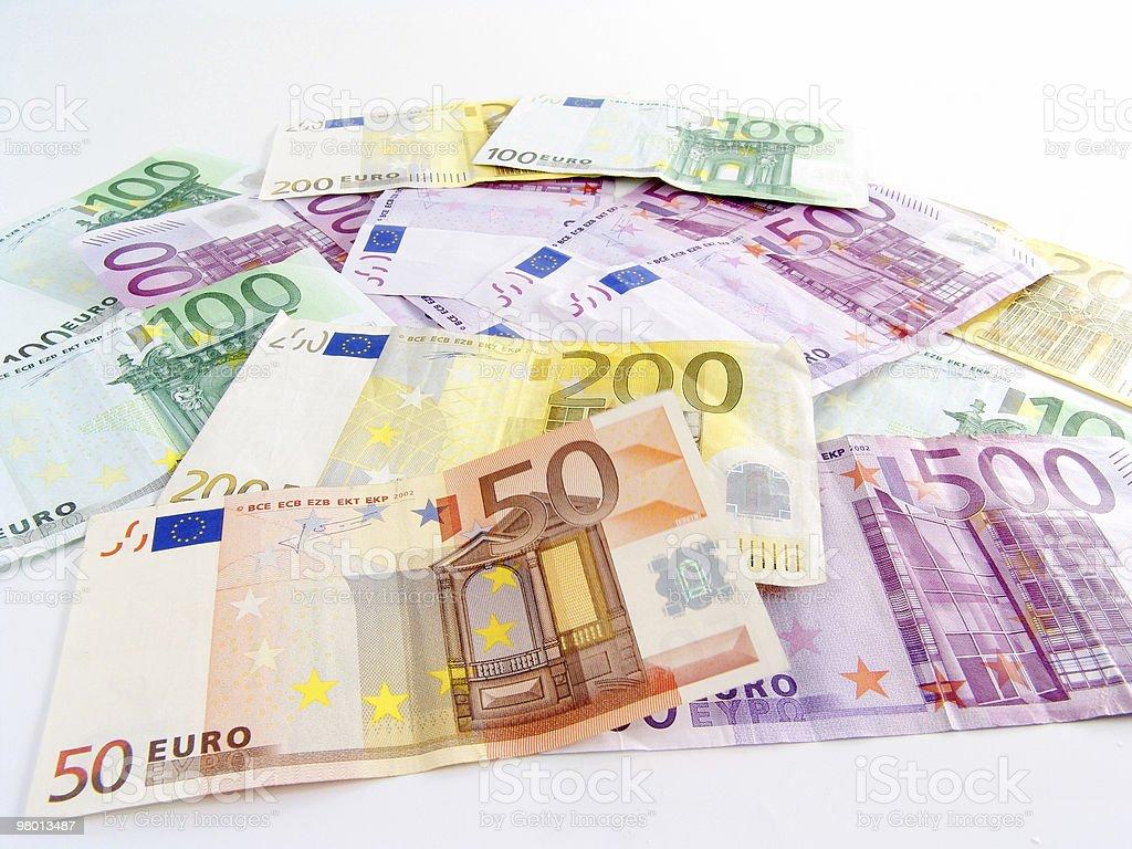 euro royalty free stockfoto