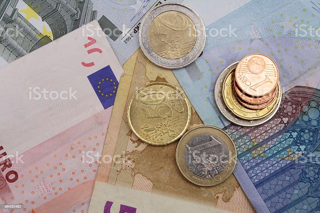 Euro foto stock royalty-free