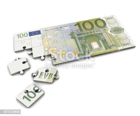 istock Euro Puzzle 187023905