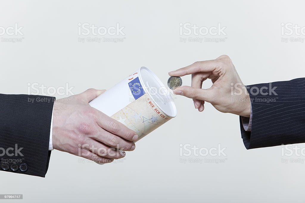 euro savings royalty-free stock photo