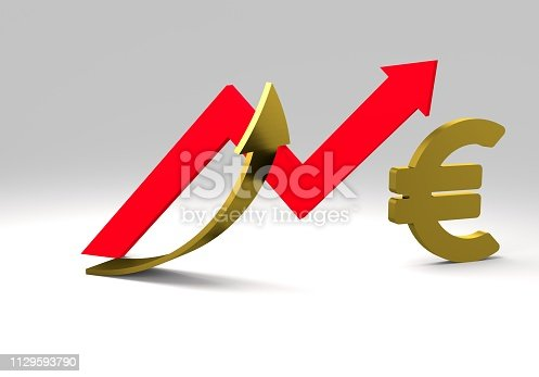 istock euro sign with a graph 1129593790