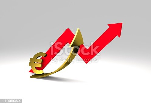 istock euro sign with a graph 1129593800