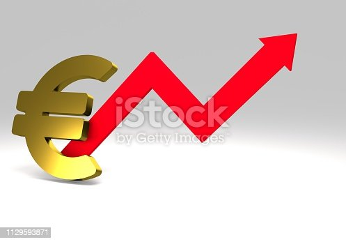 istock euro sign with a graph 1129593871