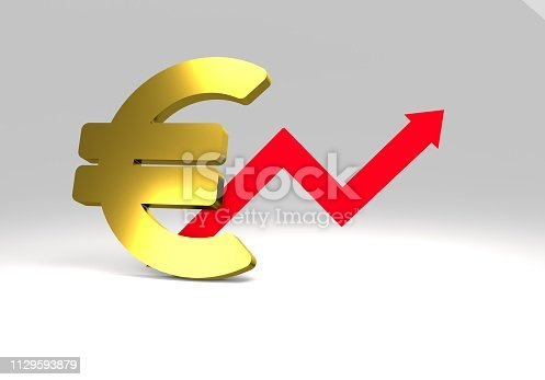 istock euro sign with a graph 1129593879