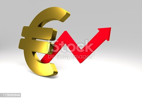 istock euro sign with a graph 1129593946