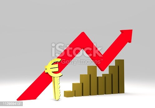 istock euro sign with a graph 1129594131