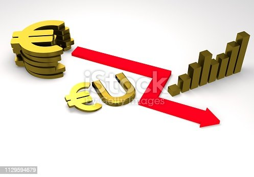 istock euro sign with a graph 1129594679