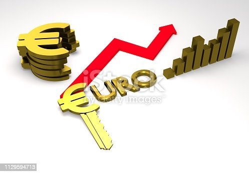 istock euro sign with a graph 1129594713
