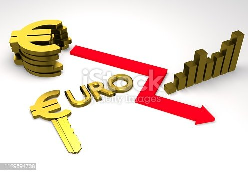 istock euro sign with a graph 1129594736