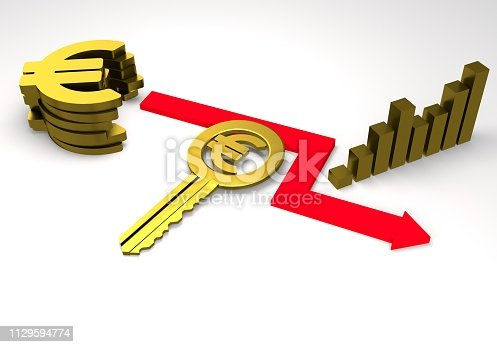 istock euro sign with a graph 1129594774