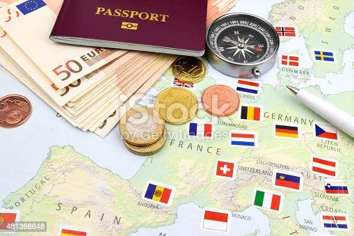 istock Euro Travel Cash 481368648