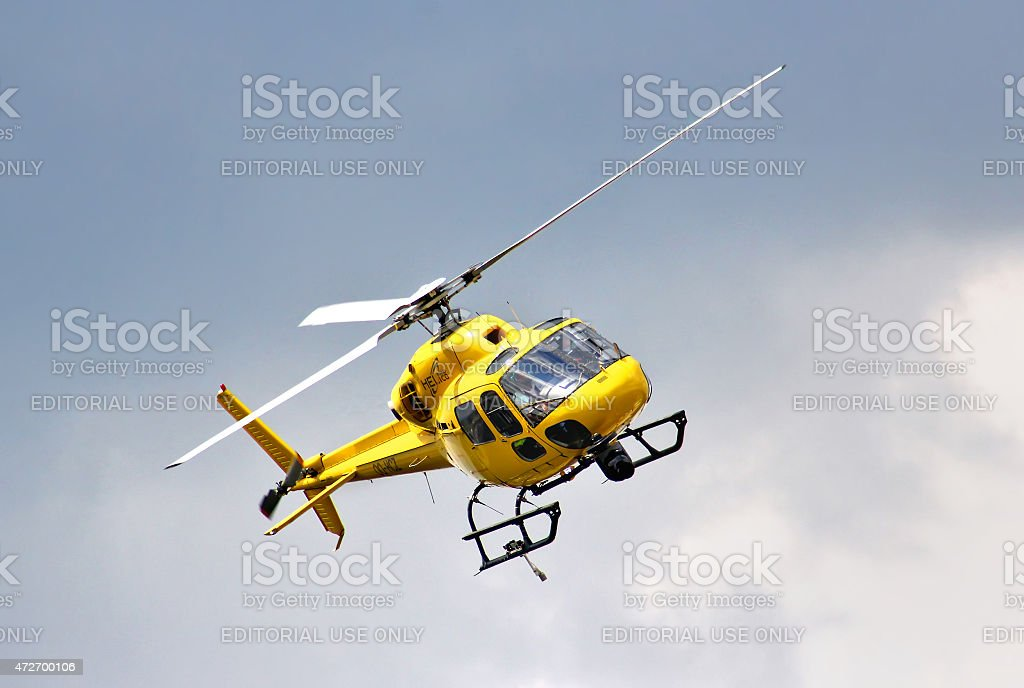 Eurocopter AS-355N Ecureuil 2 stock photo