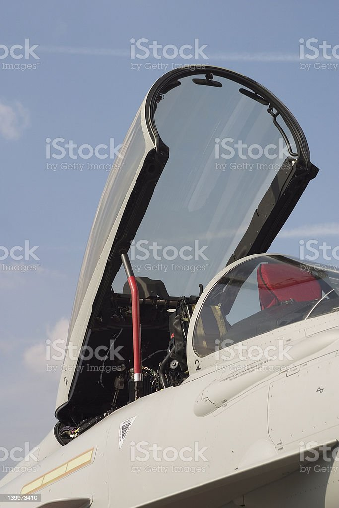Eurofighter Typhoon Cockpit Stock Photo - Download Image Now