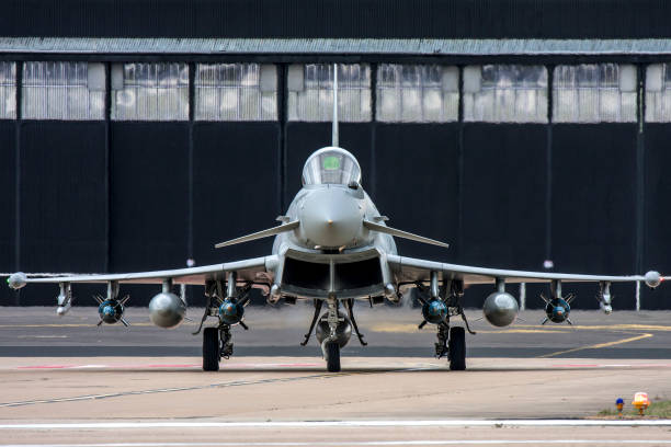 eurofighter typhoon - uk military stock photos and pictures