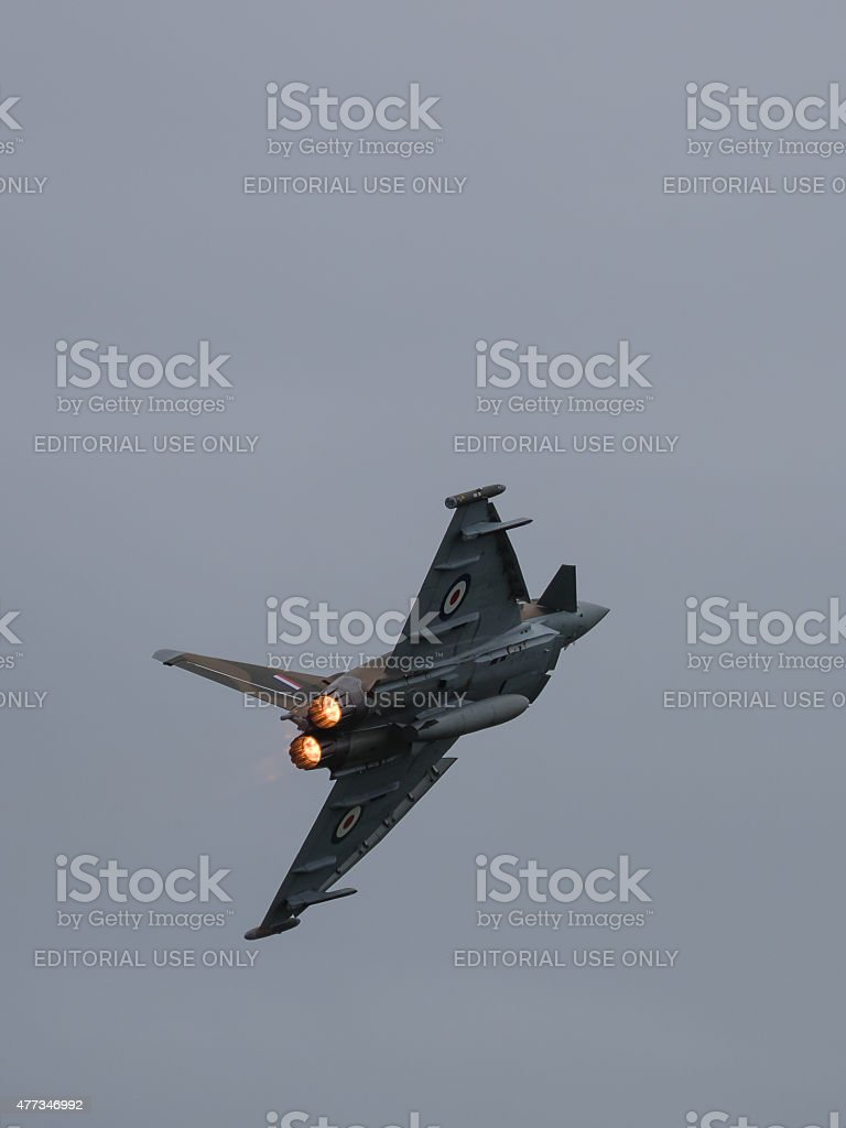 Raf Eurofighter Typhoon Stock Photo - Download Image Now