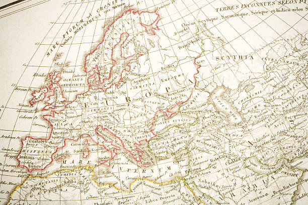 Europa 1825 stock photo