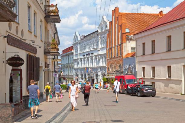 Europa Royale hotel in Vilnius stock photo