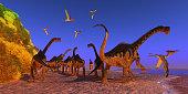 Europasaurus Dinosaur Beach