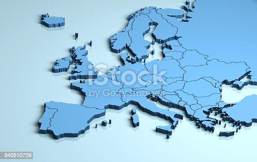 istock Europe 3D 540510726