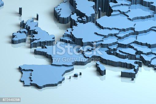 istock Europe 3D 872445258