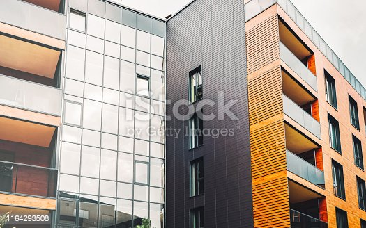 949087660 istock photo Europe Architectural apartment buildings quarter 1164293508