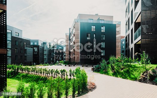 949087660 istock photo Europe Architectural apartment residential building complex 1164293545
