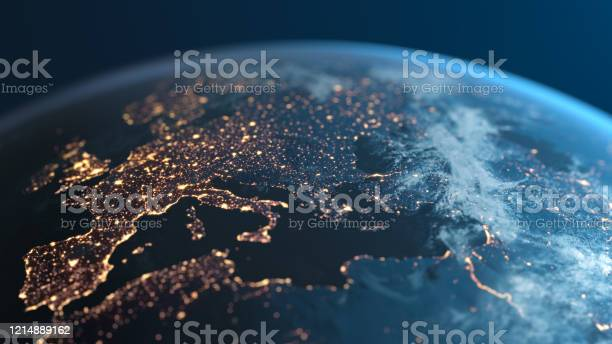 Photo of Europe At Night - Planet Earth - City Lights Seen From Space