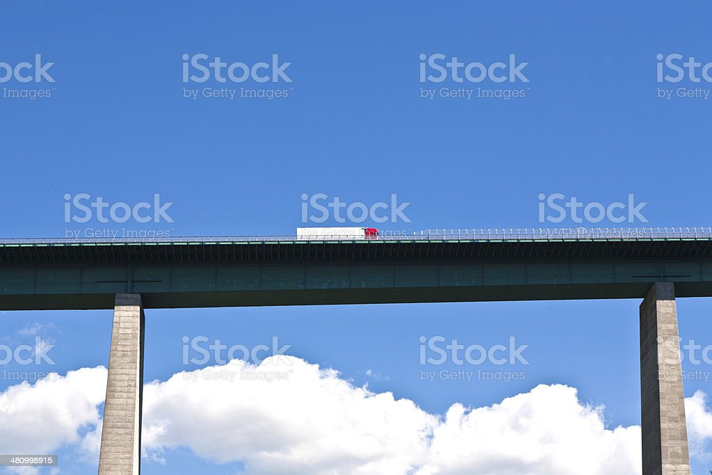 Europa-Brücke am Brenner Highway – Foto