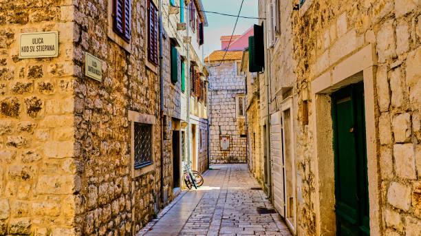 Isla de Europa Croacia Hvar - foto de stock