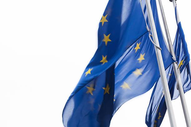 Europa-Flagge in Brüssel, Belgien – Foto