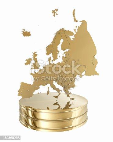 istock Europe Map - Gold Award 182369256