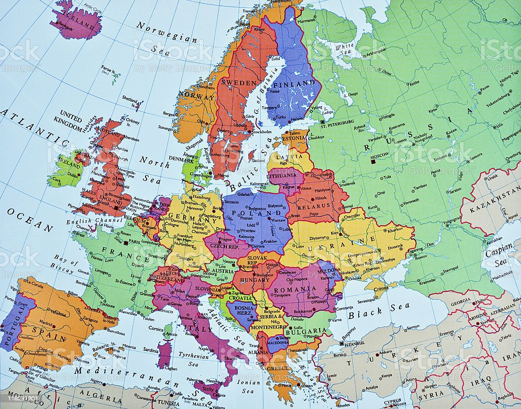 Royalty Free Europe Map Pictures Images and Stock Photos iStock
