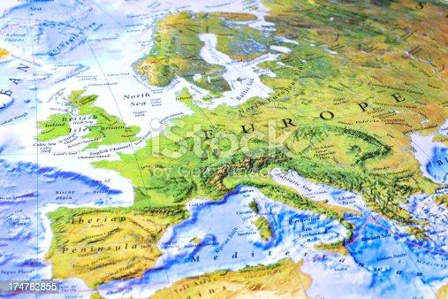 istock Europe Map 174762855