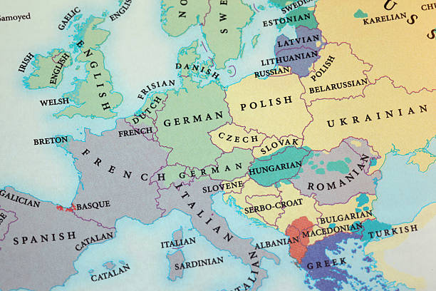 Europa Karte – Foto
