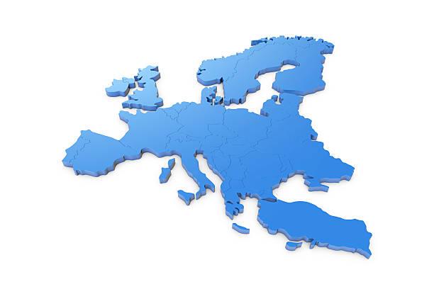 europa mapa - portugal map imagens e fotografias de stock