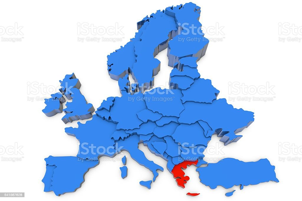 Europe Map With Greece In Red Stock Photo - Download Image ... on map of europe urals, map of europe british isles, map of europe with portugal, map of europe luxembourg, map of europe north america, map of europe czech republic, map of europe germany, map of europe denmark, map of europe vistula, map of europe in 1979, map of europe ireland, map of europe turkey, map of europe vietnam, map of europe great britian, map of europe china, map of europe 5th century, map of europe galicia, map of europe iceland, map of europe macedonia, world map greece,