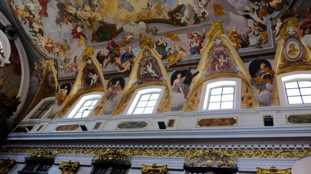 Europa, Eslovenia, Ljubljana, dentro de los datos de Catedral San Nicolás - foto de stock